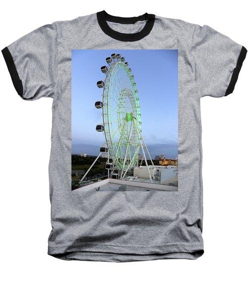 Baseball T-Shirt featuring the photograph The Orlando Eye 000 by Chris Mercer