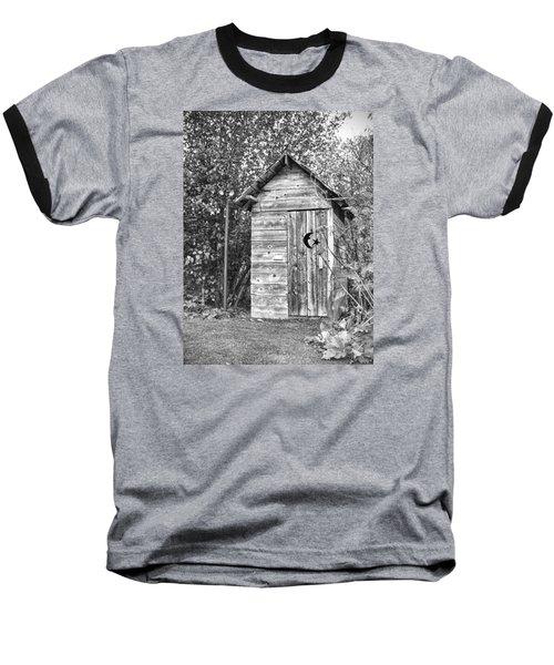 The Outhouse Bw Baseball T-Shirt