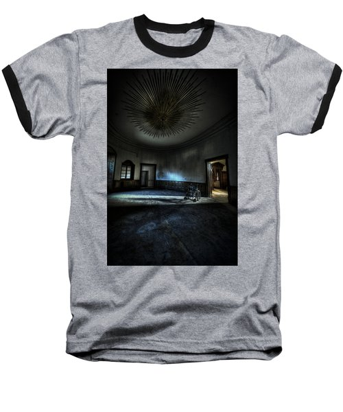 The Oval Star Room Baseball T-Shirt by Nathan Wright