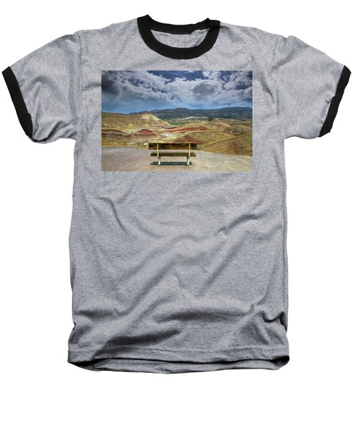 The Overlook At Painted Hills In Oregon Baseball T-Shirt