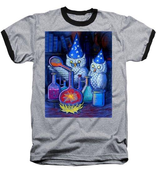 The Owl Chemists Baseball T-Shirt