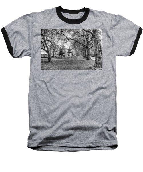 The Pagoda Battersea Park London Baseball T-Shirt