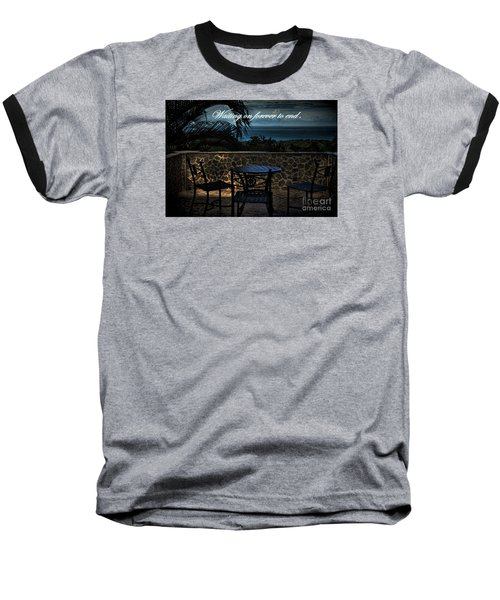 Baseball T-Shirt featuring the photograph Pain That Last Forever by Pamela Blizzard