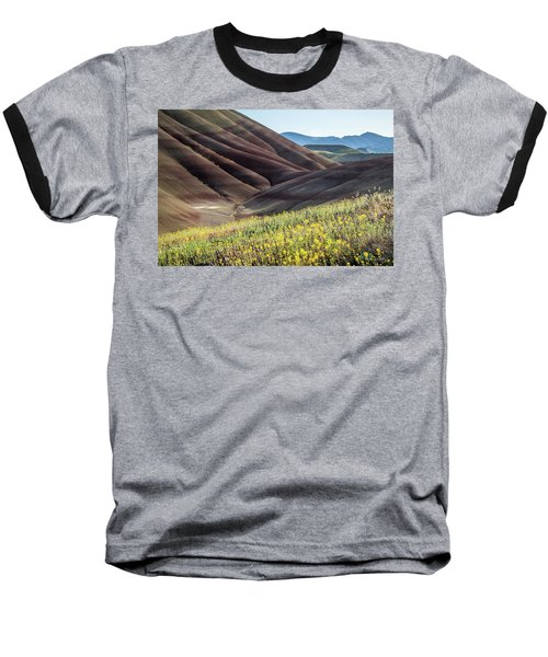 The Painted Hills In Bloom Baseball T-Shirt