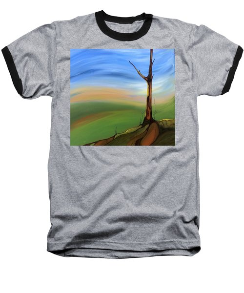 The Painted Sky Baseball T-Shirt by Pat Purdy