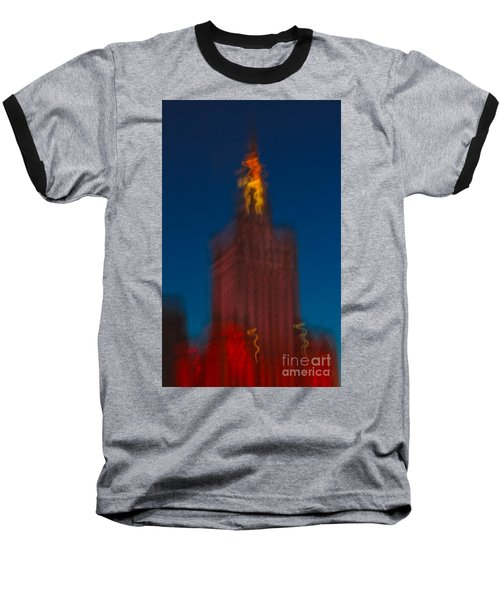 The Palace Of Culture And Science Baseball T-Shirt