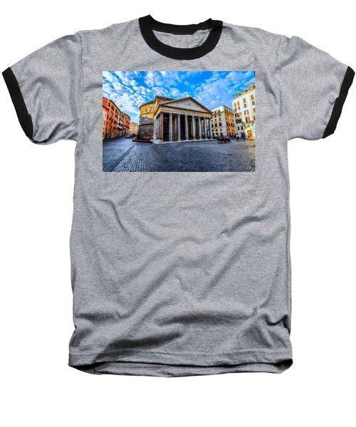 The Pantheon Rome Baseball T-Shirt