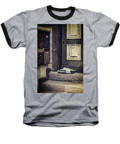 The Paper Boy Was There. Baseball T-Shirt