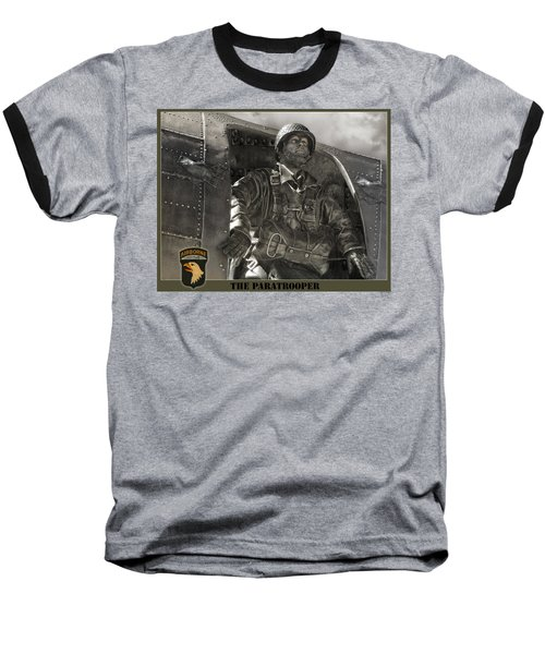 The Paratrooper Baseball T-Shirt