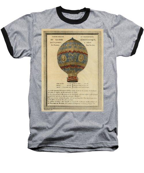The Paris Ascent Baseball T-Shirt