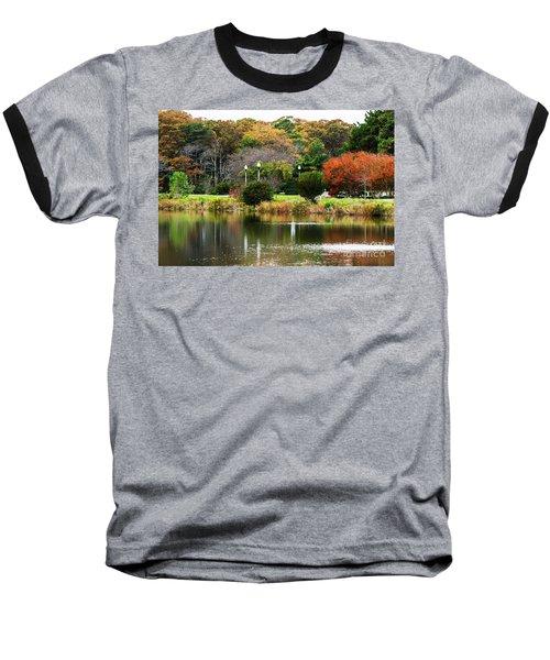 The Park Baseball T-Shirt by Judy Wolinsky