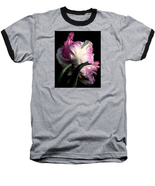 The Parrot Tulip Queen Of Spring Baseball T-Shirt