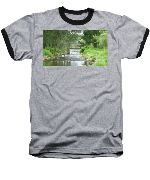 The Pasture's Bridge Baseball T-Shirt