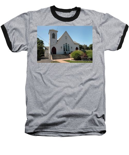 The Patchogue Seventh Day Adventist Church Baseball T-Shirt