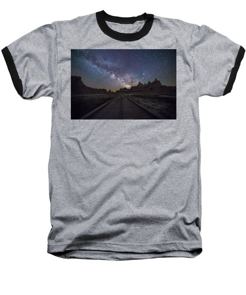 Baseball T-Shirt featuring the photograph The Path by Aaron J Groen