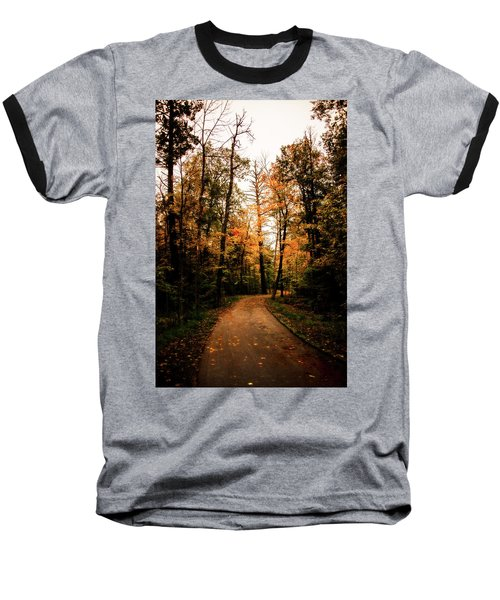 The Path Baseball T-Shirt by Annette Berglund