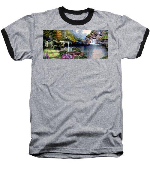 The Path Least Fallowed 2 Baseball T-Shirt by Ron Chambers