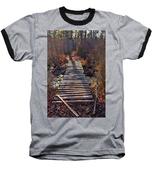 The Path Less Traveled  Baseball T-Shirt
