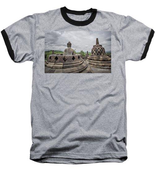 The Path Of The Buddha #5 Baseball T-Shirt