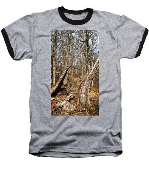 The Path Through The Woods Baseball T-Shirt