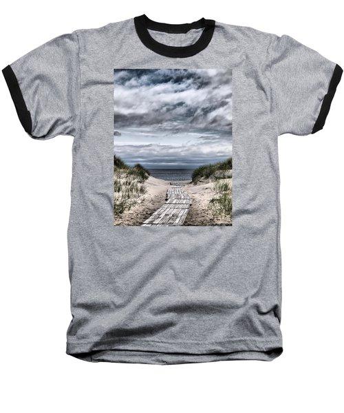 The Path To The Beach Baseball T-Shirt