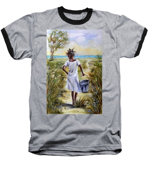The Path To The Sea Baseball T-Shirt