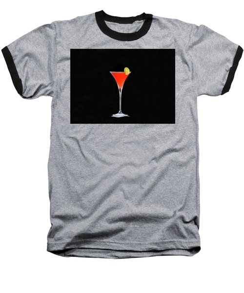 Baseball T-Shirt featuring the photograph The Perfect Drink by David Lee Thompson