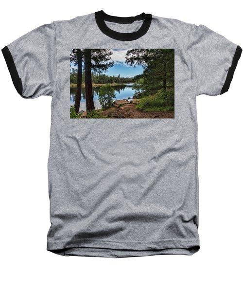 Baseball T-Shirt featuring the photograph The Perfect Fishing Spot  by Saija Lehtonen
