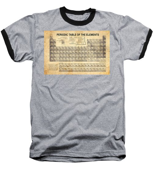 The Periodic Table Baseball T-Shirt by Olga Hamilton