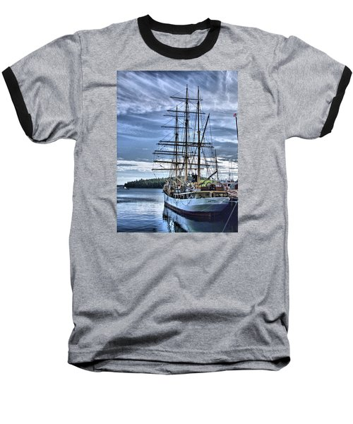 The Picton Castle Docked In Lunenburg Baseball T-Shirt