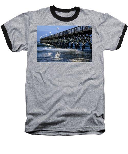 The Pier At The Break Of Dawn Baseball T-Shirt