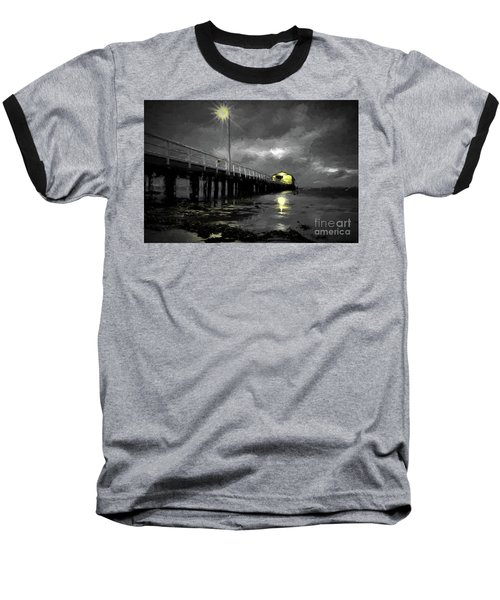 The Pier On The Bay Baseball T-Shirt