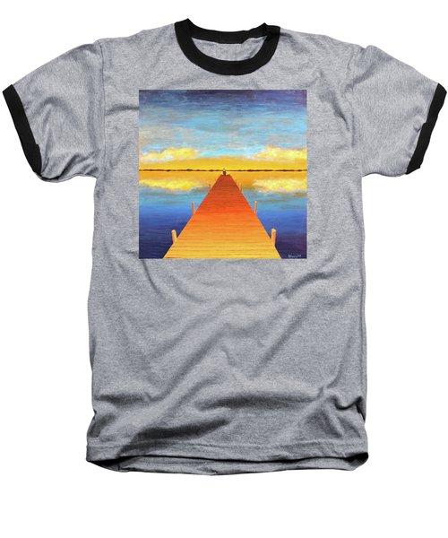 The Pier Baseball T-Shirt by Thomas Blood