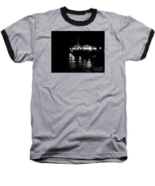 Baseball T-Shirt featuring the photograph The Pier by Vanessa Palomino