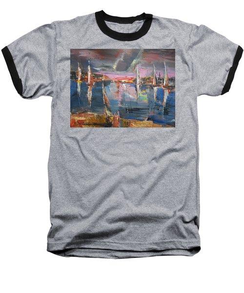 The Pink Bay Baseball T-Shirt