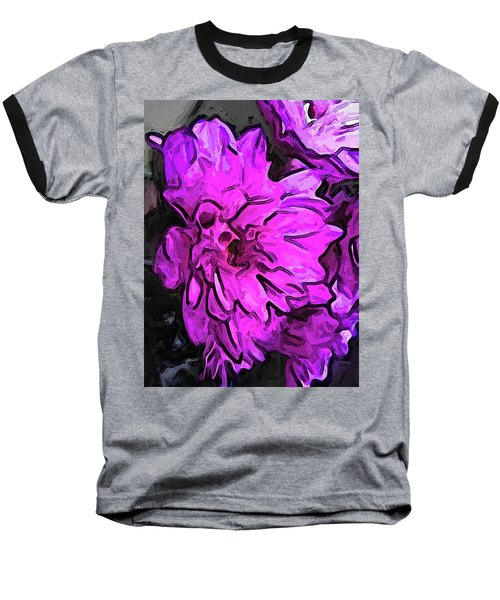 The Pink Flower With The Lavender Edges Baseball T-Shirt