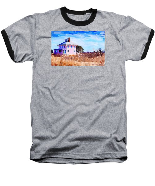 The Pink House, Newburyport, Ma. Baseball T-Shirt