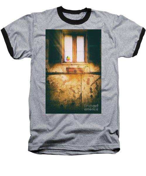 Baseball T-Shirt featuring the photograph The Pinwheel by Silvia Ganora