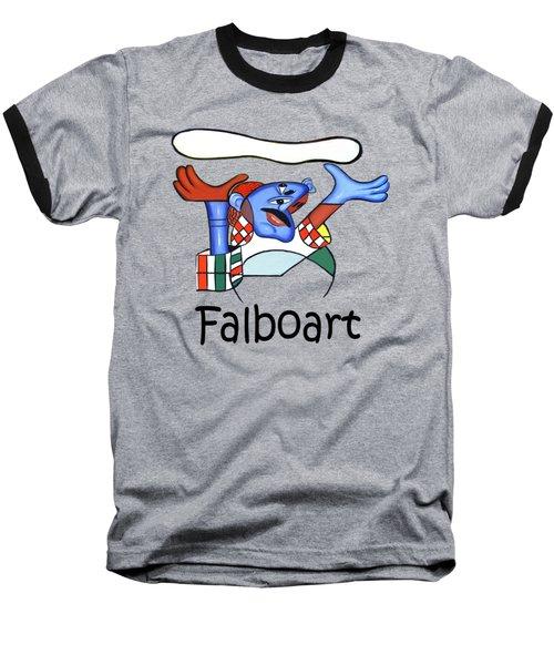 The Pizza Guy T-shirt Baseball T-Shirt by Anthony Falbo