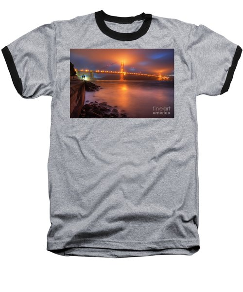 Baseball T-Shirt featuring the photograph The Place Where Romance Starts by William Lee