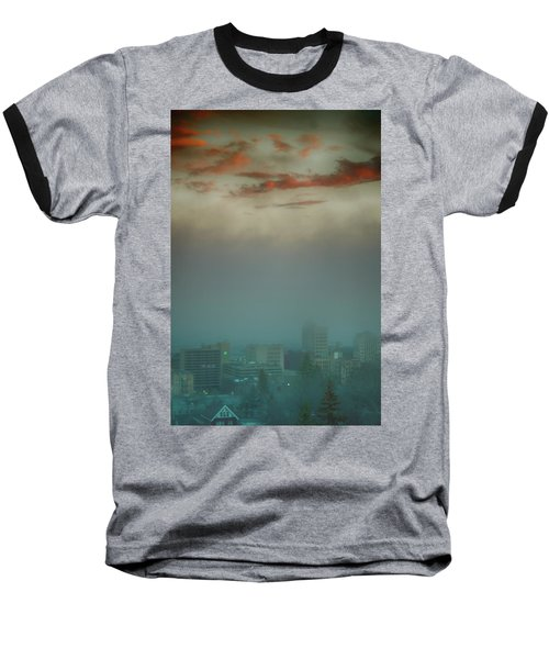 The Planet Above The Earth Baseball T-Shirt