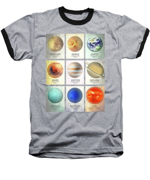 The Planets Baseball T-Shirt