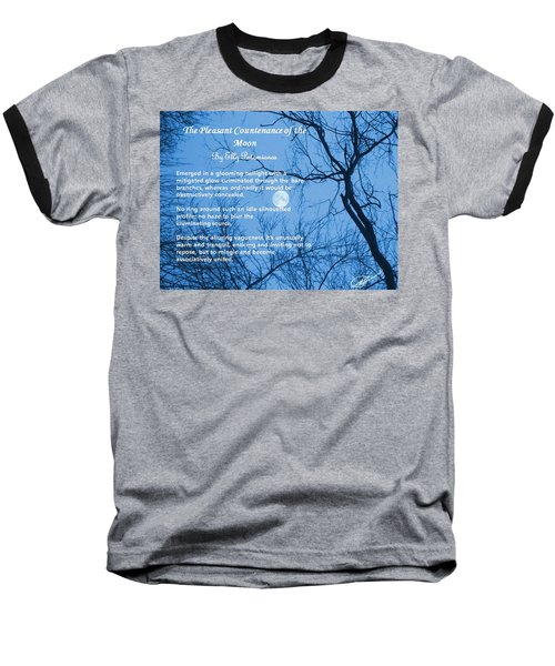 The Pleasant Countenance Of The Moon Baseball T-Shirt