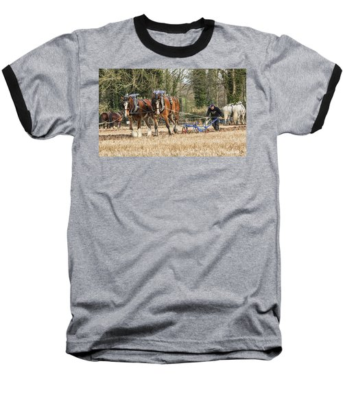 The Ploughman Baseball T-Shirt by Roy McPeak
