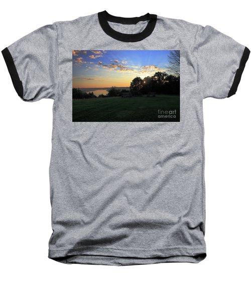 The Point At Sunrise Baseball T-Shirt