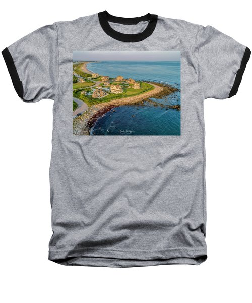 The Point At Weekapaug Baseball T-Shirt