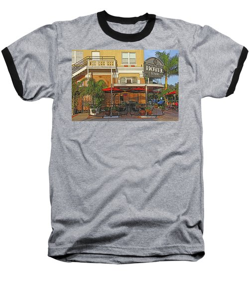 The Ponce De Leon Hotel Baseball T-Shirt