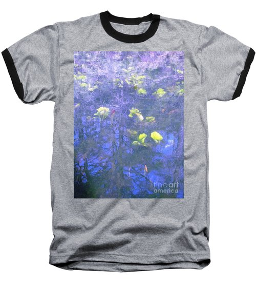 Baseball T-Shirt featuring the photograph The Pond 1 by Melissa Stoudt