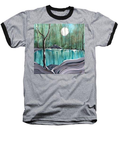 The Pond Baseball T-Shirt by Pat Purdy
