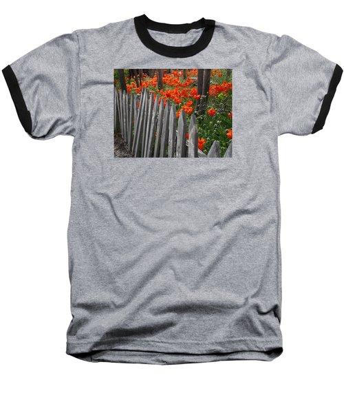 The Poppy Fence Baseball T-Shirt